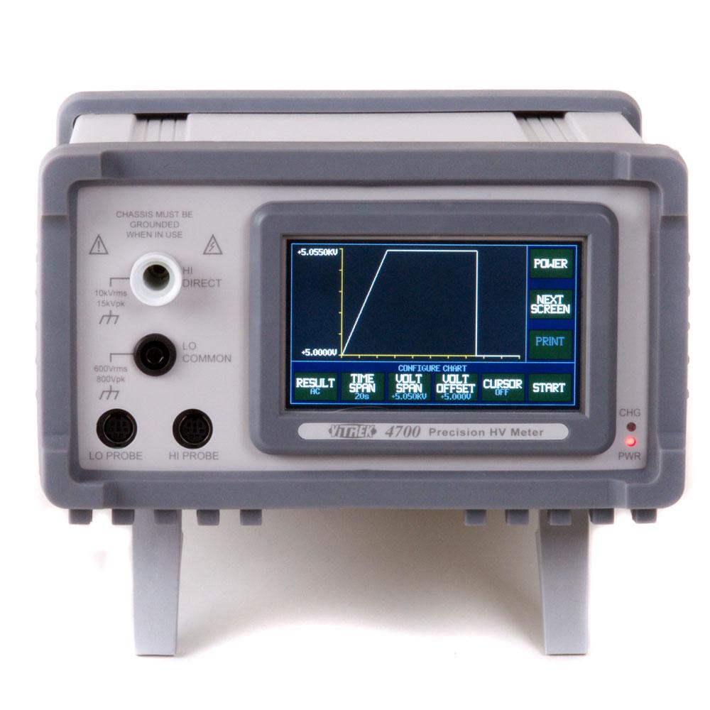 Vitrek High Voltage Meter 4700 Chart Mode