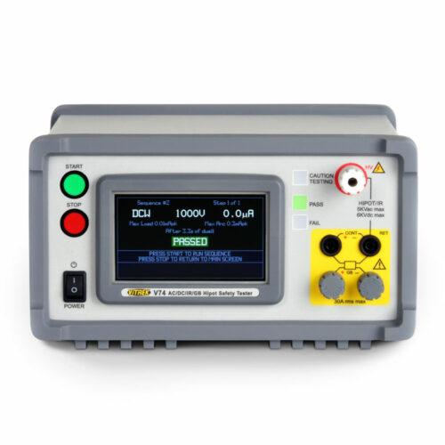 V7X Hipot Tester Front 2