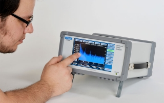 PA900 Power Analyzer Touchscreen