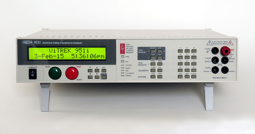 951 6KV AC/DC/IR/LR Electrical Safety Compliance Analyzer