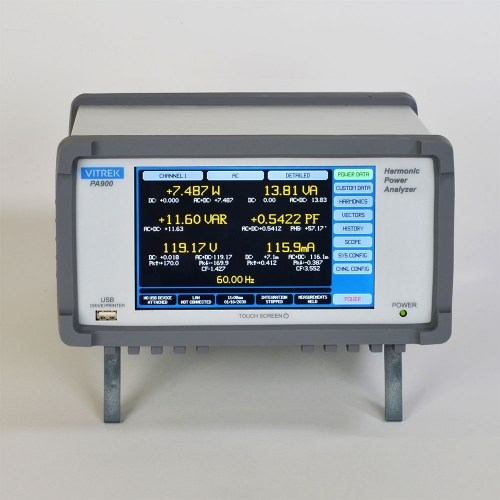 PA900 Power Analyzer Front