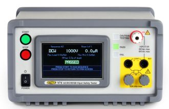 The Vitrek V7x Hipot Tester is well suited to the requirements of electrical safety production testing.