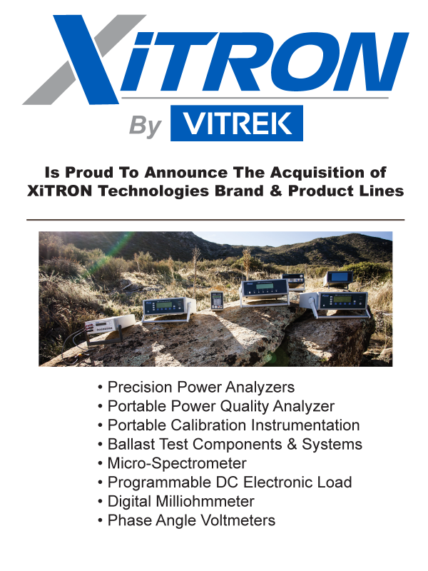 XiTRON Products by Vitrek