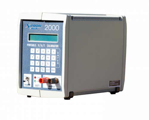 vitrek xitron 2000 portable calibration instrument