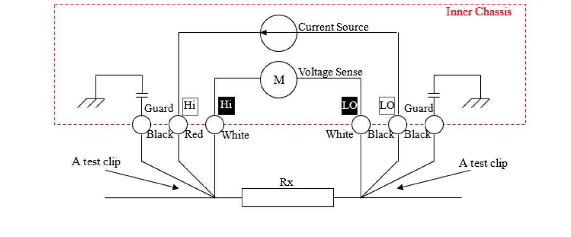 vitrek xitron xt560 milliohmmeter diagram