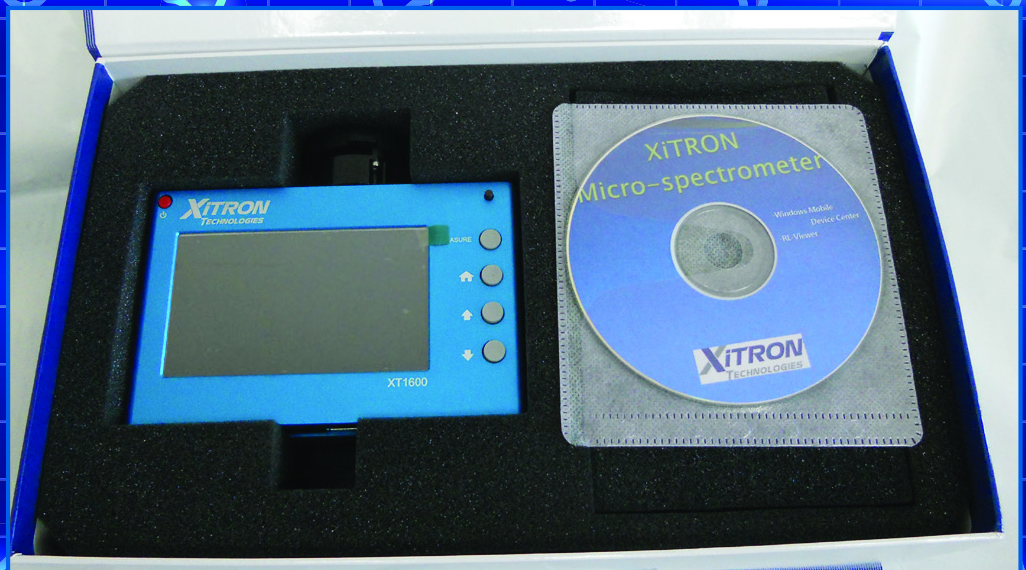 vitrek xitron XT1600 portable micro-spectrometer