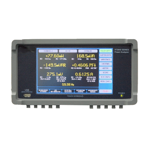 xitron vitrek XT2640 power analyzer front