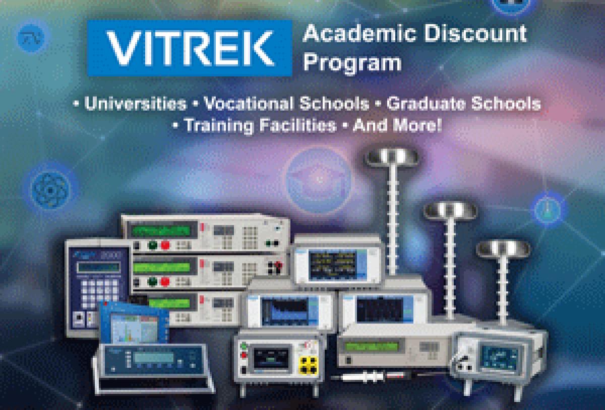 vitrek academic discount program