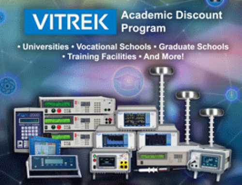 Press Release: Vitrek Announces Academic Discount Program to Support Technology Lab Upgrades in Educational Institutions