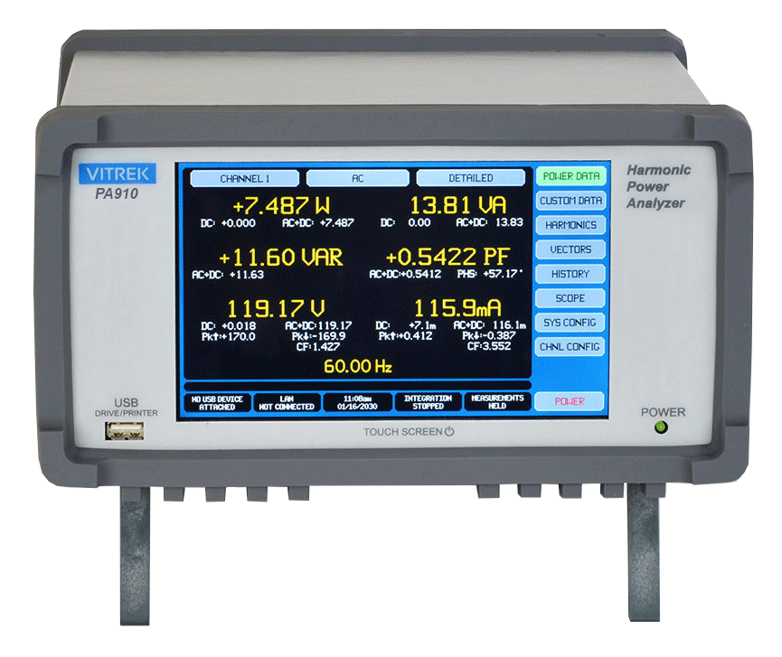 PA910/PA920 High Accuracy Power Analyzers
