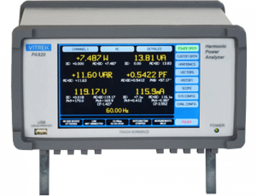 Vitrek's Newest PA920 Power Analyzer is Now Available!