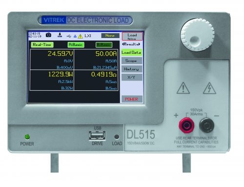 Press Release: Vitrek Launches New Programmable DC Load Product