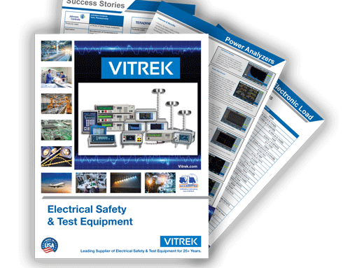 Press Release: Vitrek Launches New Electrical Safety and Test Equipment Catalog